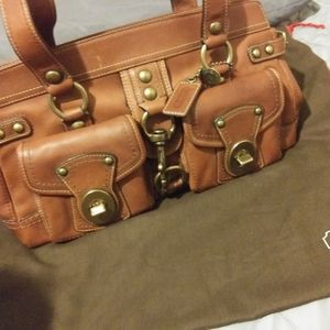 Beautiful Leather Coach purse